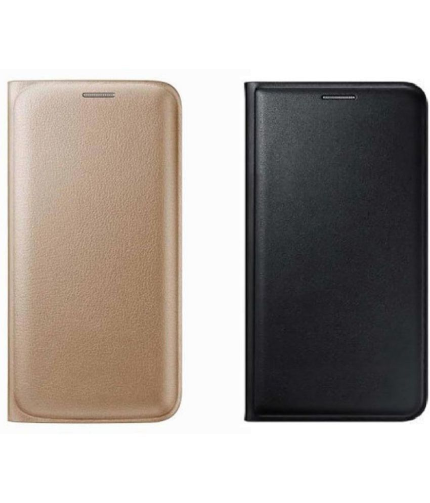 Lyf Flame 5 Flip Cover by Coverup - Multi