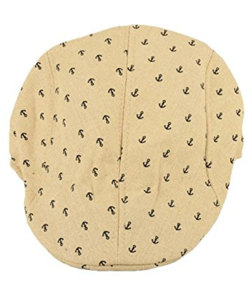 Tiekart Cream Golf Cap-Sober and suave