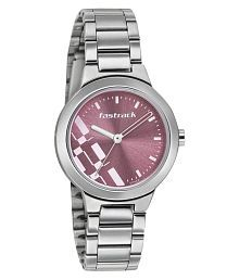 Fastrack Analogue Pink Dial Watch for Women - 6150SM04