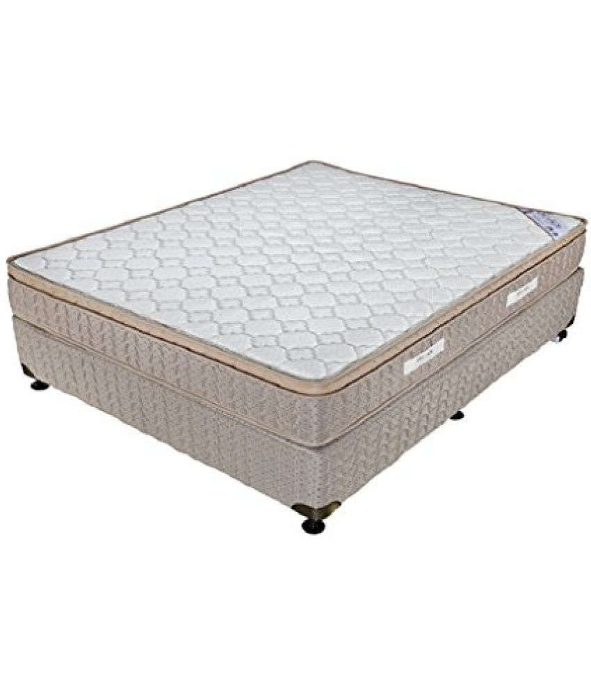 king koil euro back 5 inch king size rebonded foam mattress off