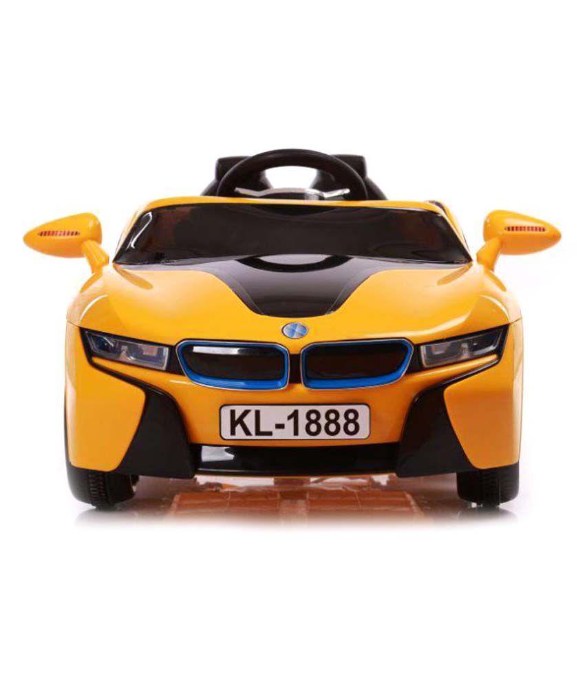 Toyhouse Bmw I8 Battery Operated Ride On Car Yellow Buy Toyhouse