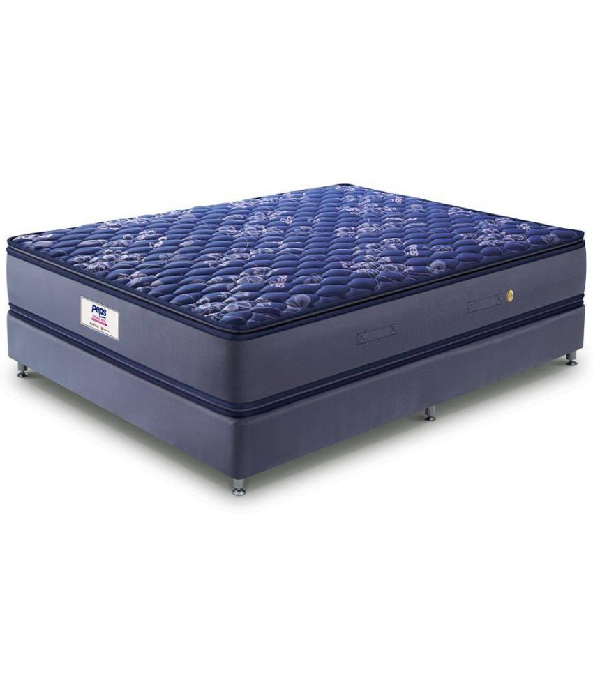 peps springkoil bonnell pillow top 15 cm 6 in spring mattress buy