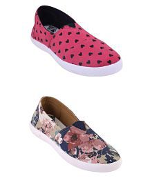 Globalite Multi Color Casual Shoes