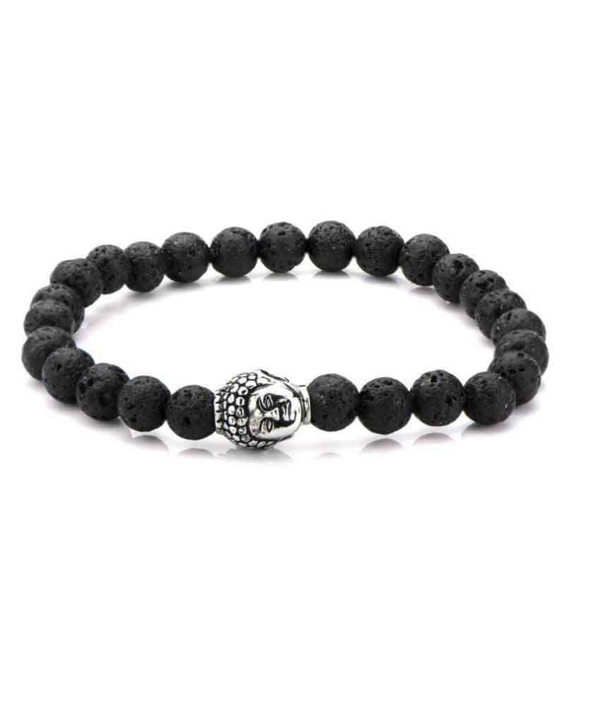 Inox Jewelry Black Bracelet