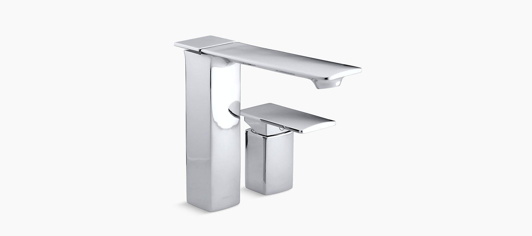 Buy Kohler Stance Deck Mount Sc Bath Faucet With Handshower K 14774in 4 Cp Online At Low Price