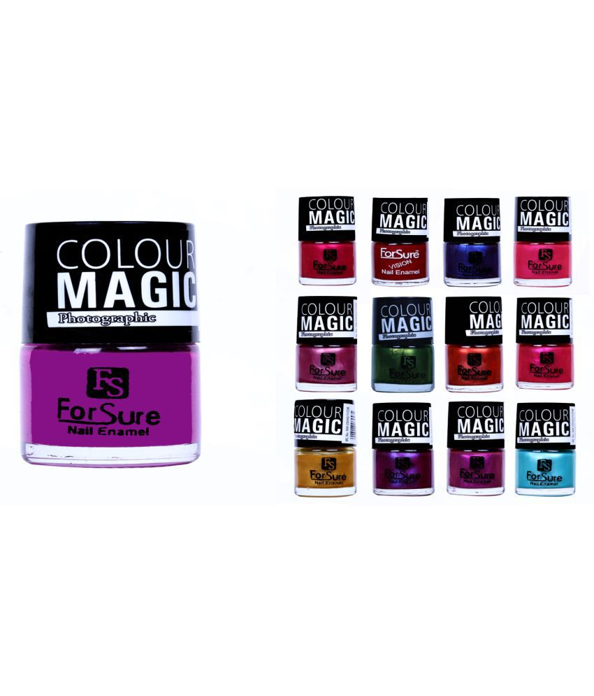 ForSure Nail Polish Multi Color Matte 650 gm