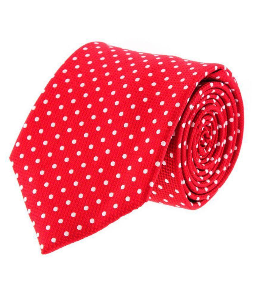 Maesta Red Formal Necktie