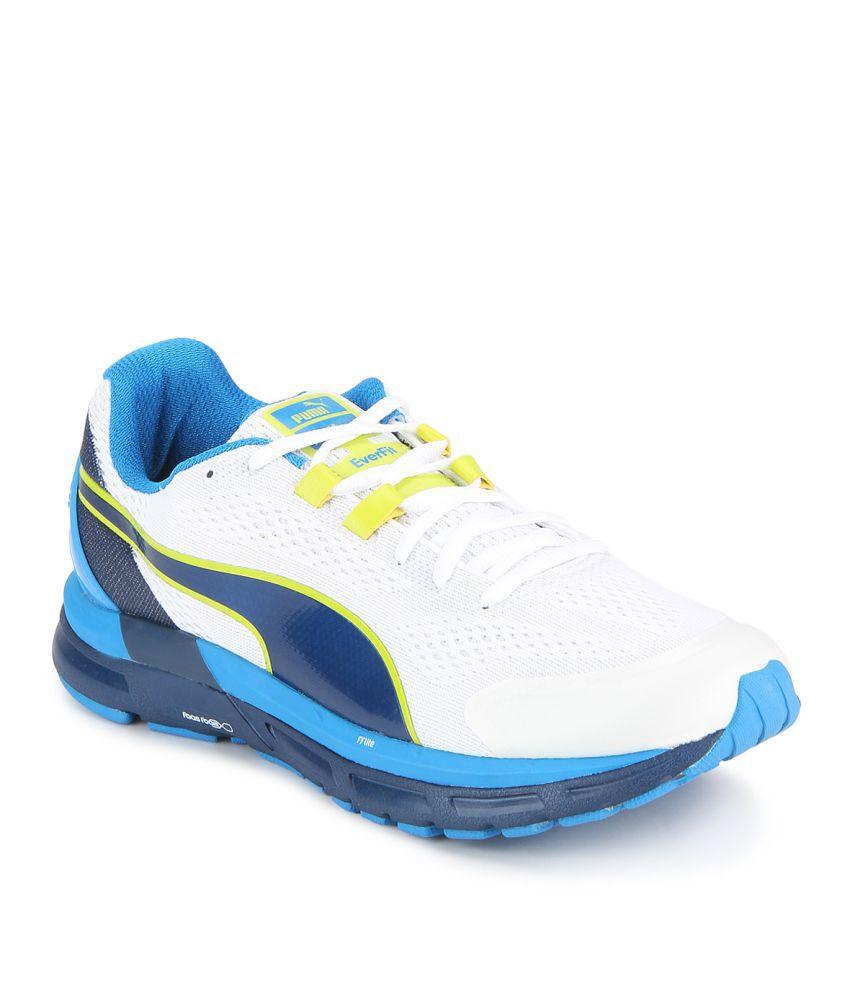 sélection premium 18479 cd933 Puma Descendant v3 IDP White Running Shoes
