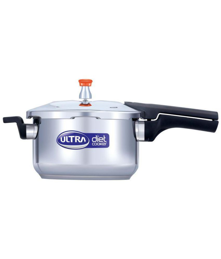 f751023c41b ... Ultra Diet Cooker 5.5 Ltrs Stainless Steel OuterLid Pressure Cooker ...