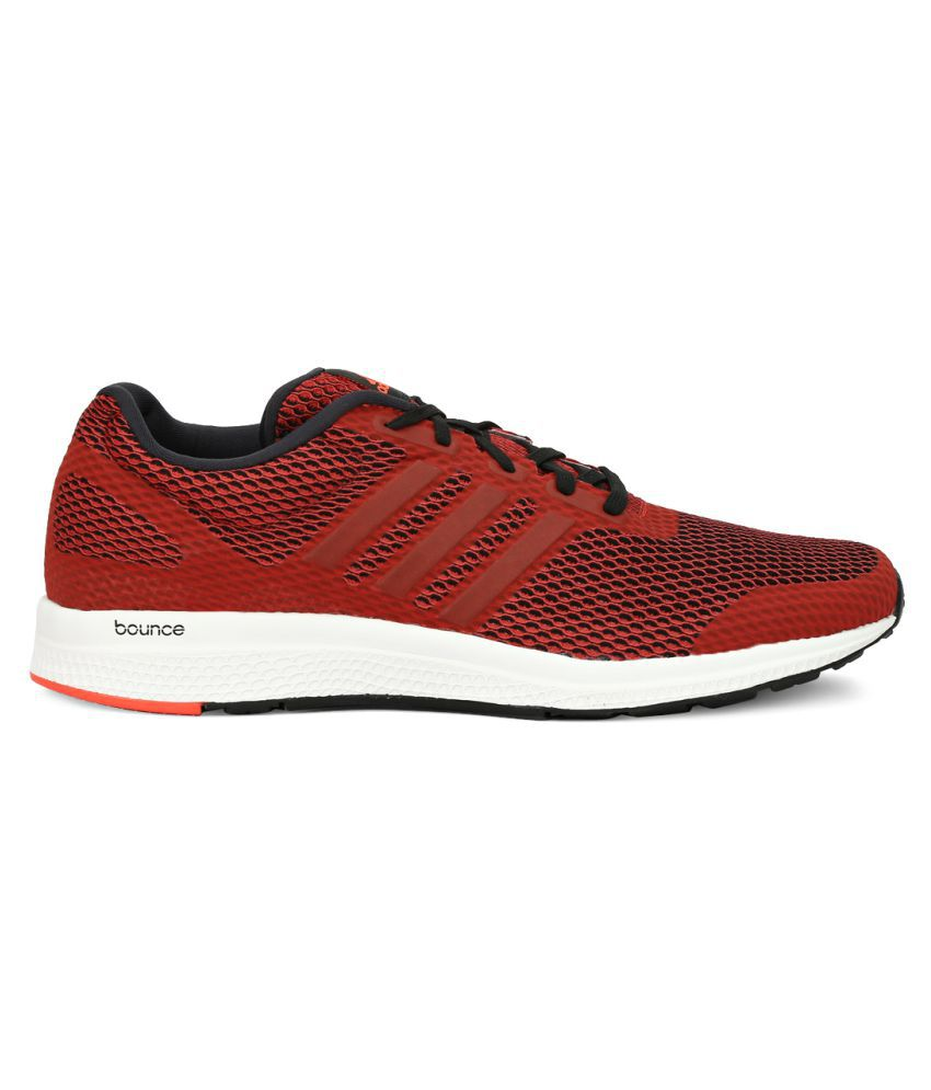 e2d6e160a Adidas Mana Bounce M Red Running Shoes - Buy Adidas Mana Bounce M ...