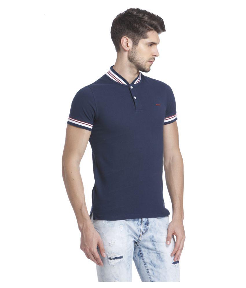 8165ef6a Jack & Jones Blue Slim Fit Polo T Shirt - Buy Jack & Jones Blue Slim ...