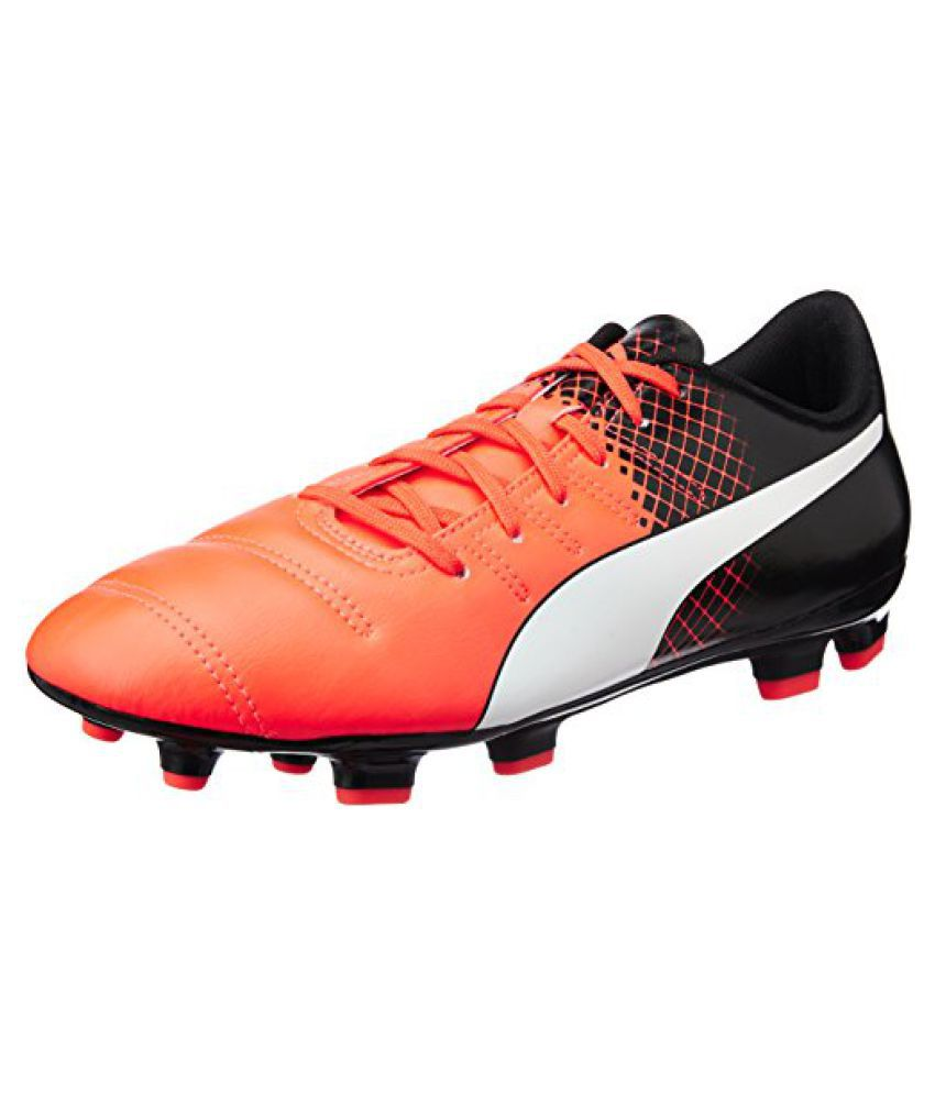Puma evoPOWER 4.3 FG Red Blast Football Shoes, Size-12 UK