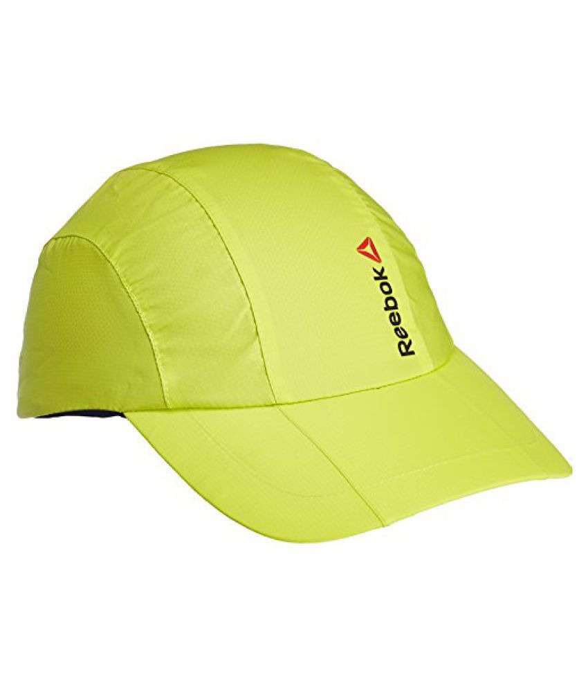 Reebok OS U Performance Polyester Cap, Men's Free Size (Yellow)