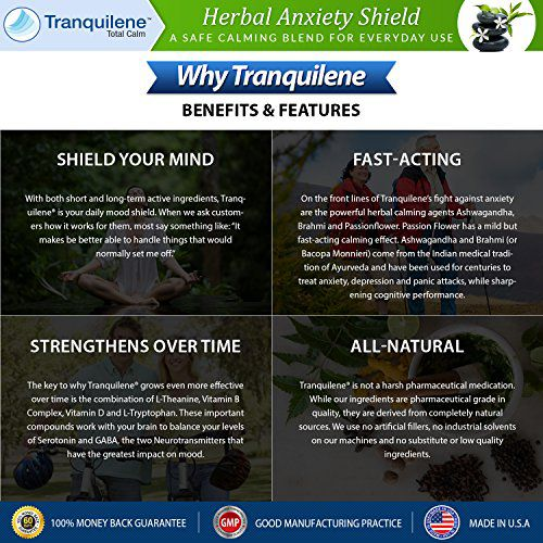 Natural anxiety relief treatment by Tranquilene Total Calm