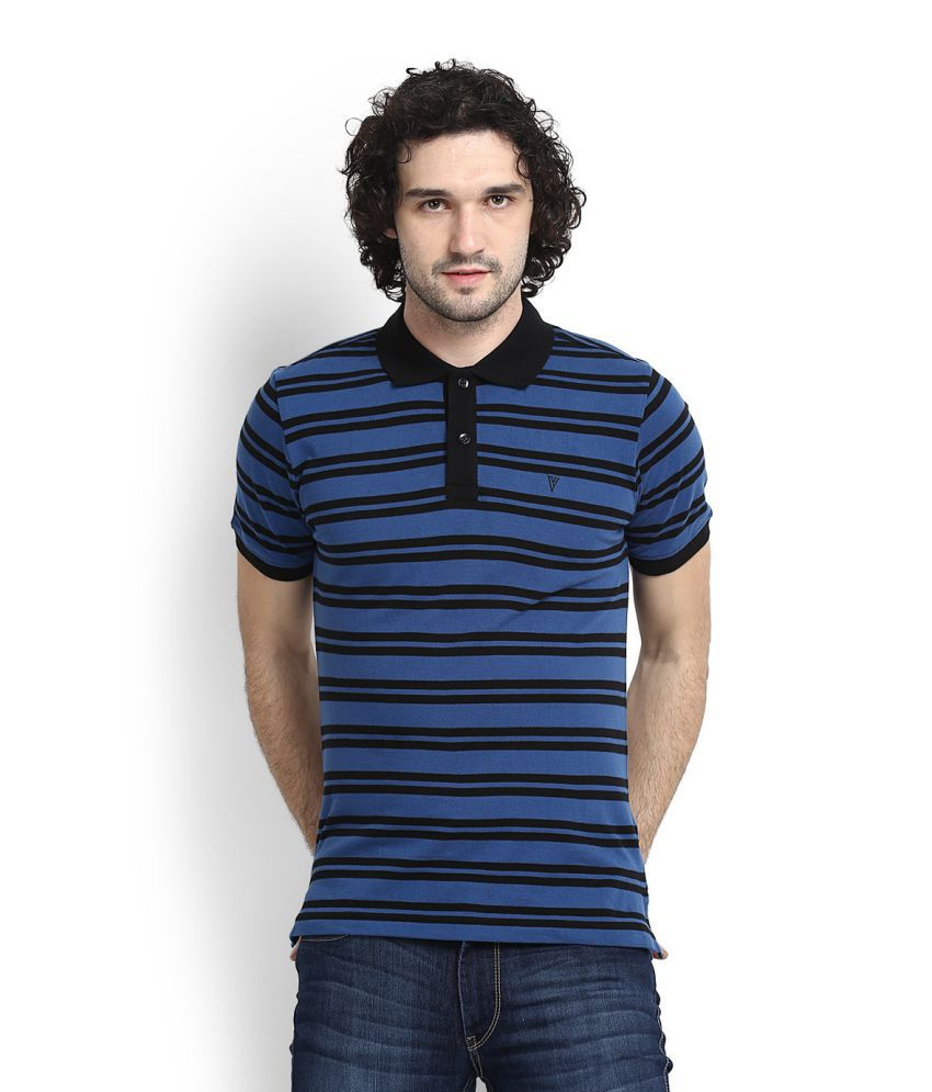 Van Heusen Blue Polo T-Shirt