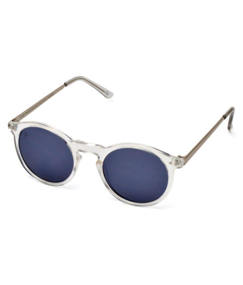 MTV Blue Round Sunglasses ( 138-C4 )