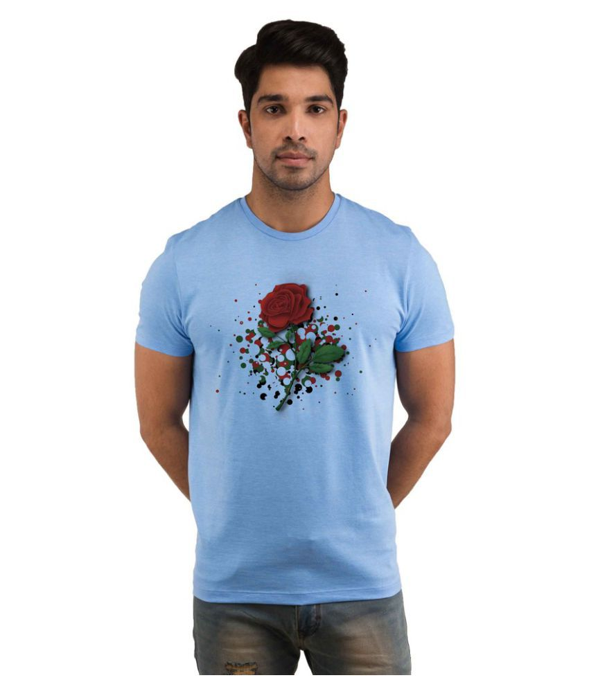 Snoby Blue Round T-Shirt