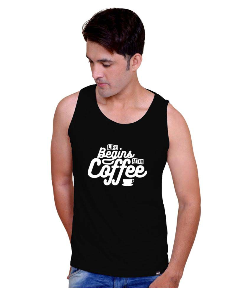 Inkit Black Round T-Shirt