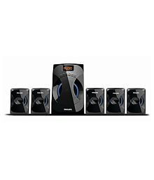 Philips SPA4040B/94 Multimedia Speaker System (Black)