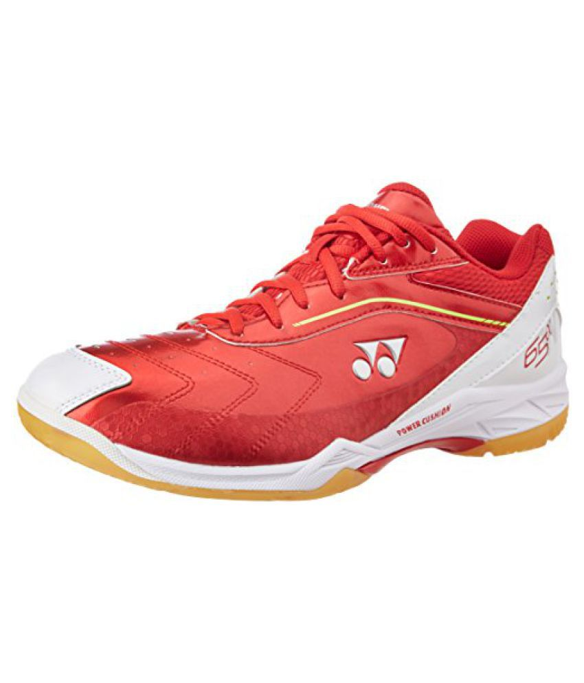 Yonex Badminton Shoes SHB 65 ALFA WIDE EX UK 111 (Red)