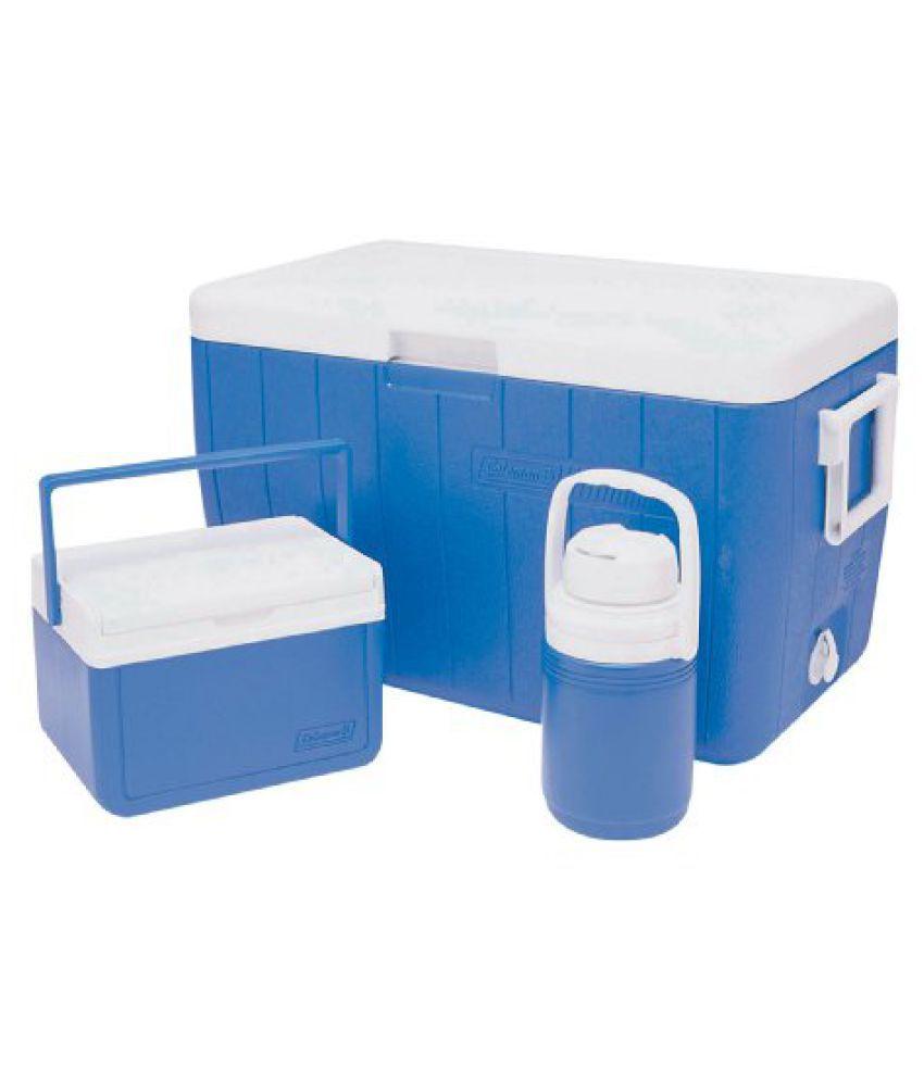 Coleman Cooler 48Qt/45.4 Liter Combo Cooler (Blue)