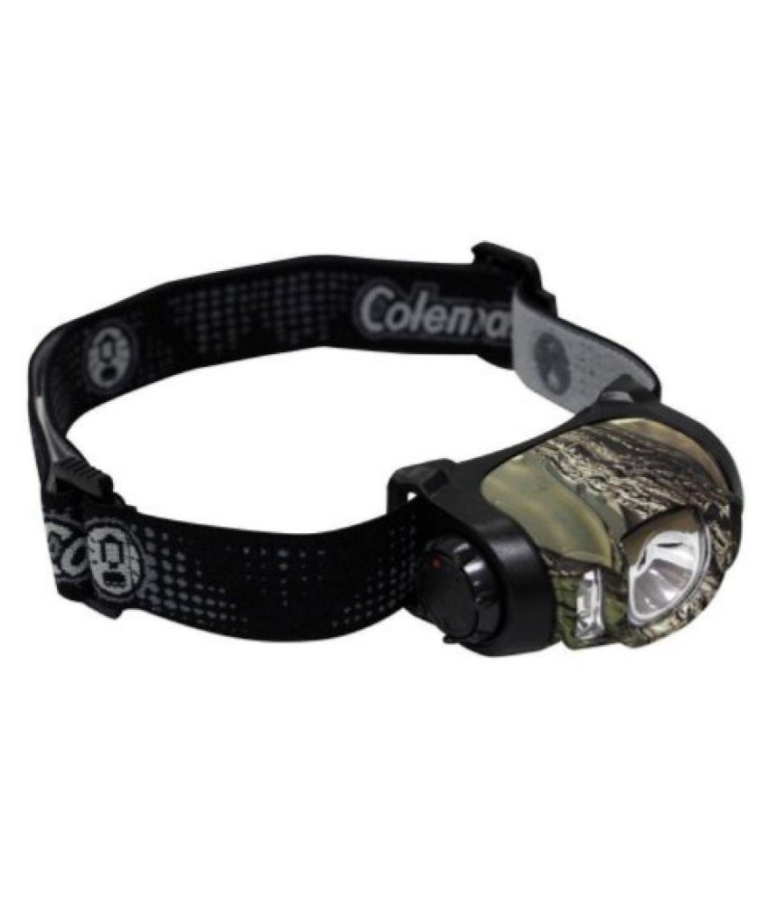 Coleman Multi-Color LED Headlamp Camouflage (Black)