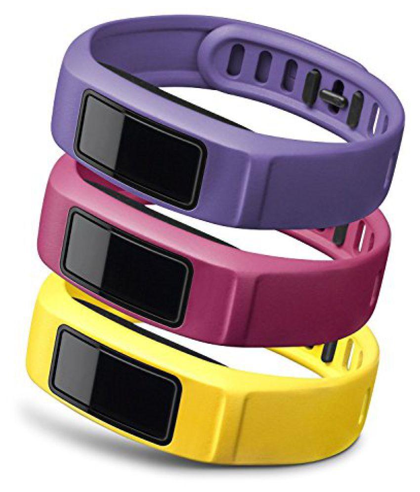 Garmin vívofit 2 Wrist Bands (Small) (Canary/Pink/Violet)