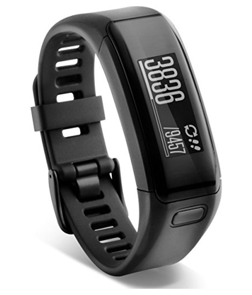 Garmin vvosmart HR Activity Tracker, Regular (Black)