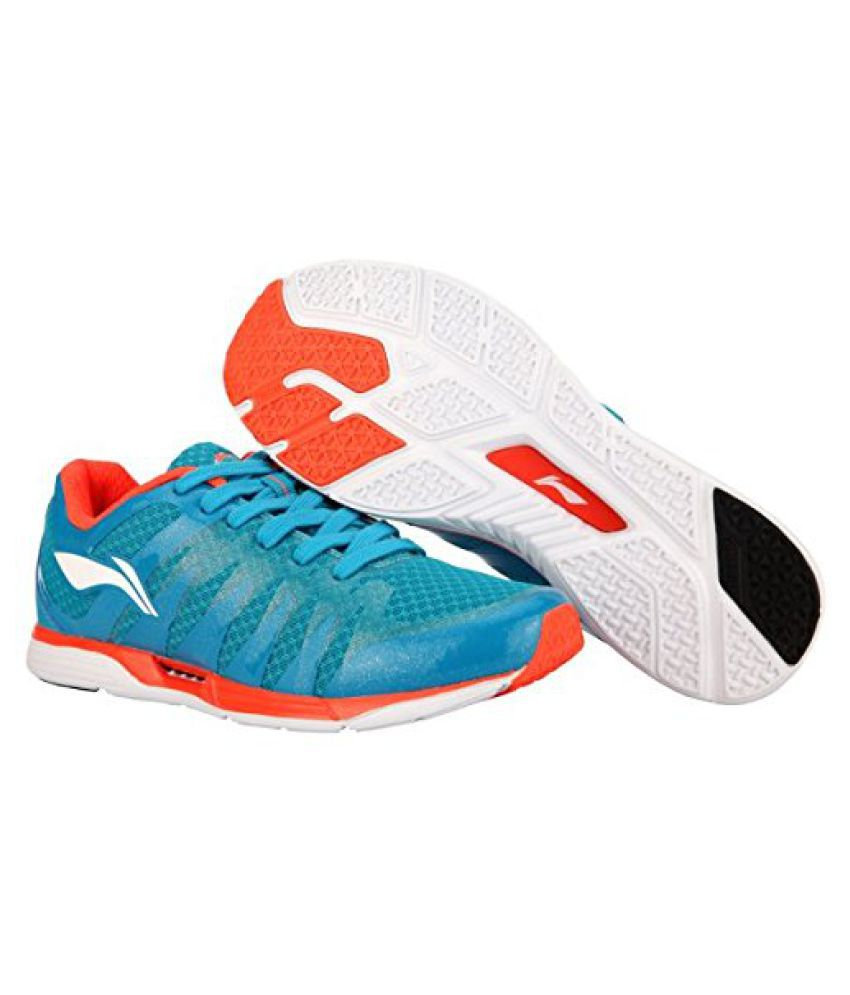Li-Ning ARBJ065-4 Flash Running Shoes Blue & Red