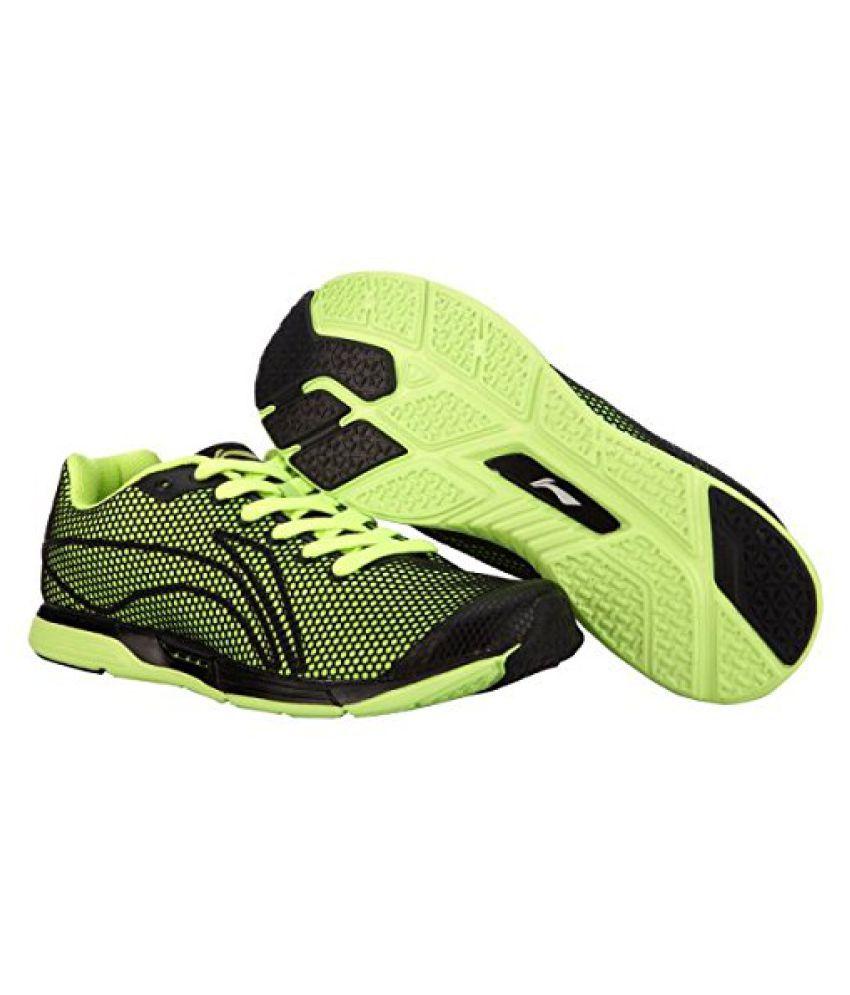 Li-Ning Hybrid ARBJ071-1 Running Shoes Black & Lime