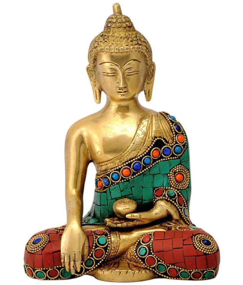 Redbag Buddha Brass Idol