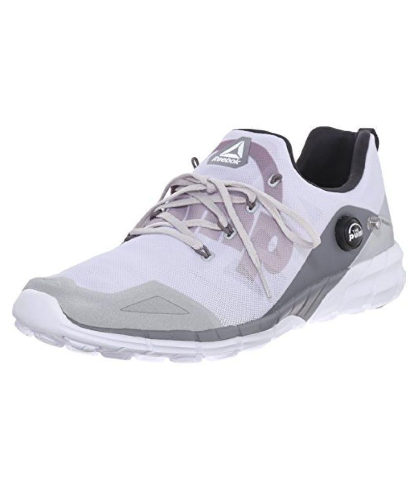 Reebok Men s Zpump Fusion 2.0 ELE Running Shoe Silver Metallic/Steel/Shark/Coal/White 11 D(M) US