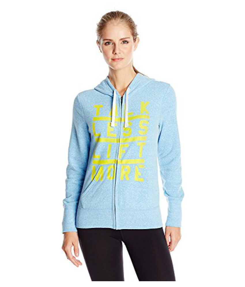 Reebok Women's Crossfit Graphic Fleece Talk Hoodie