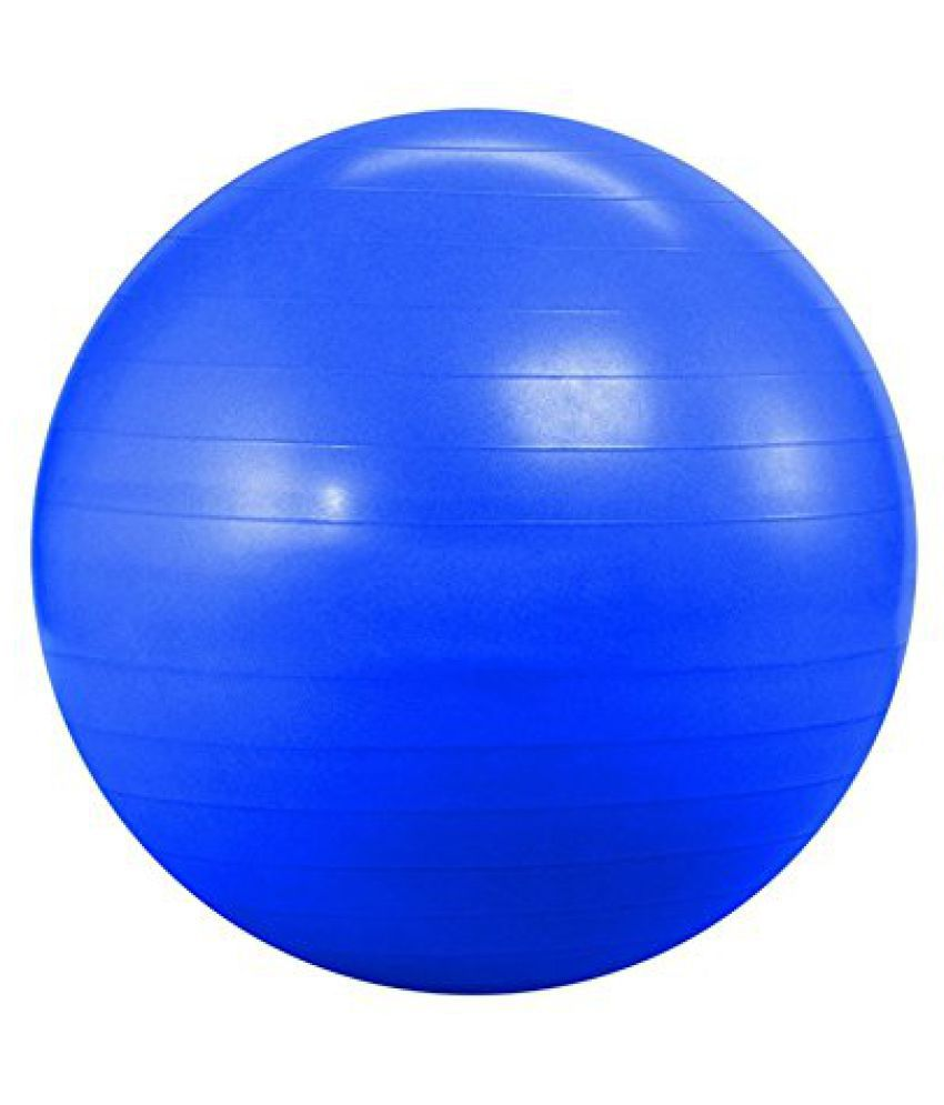 Imported Gym Ball 95 cm Anti Burst Blue Colour