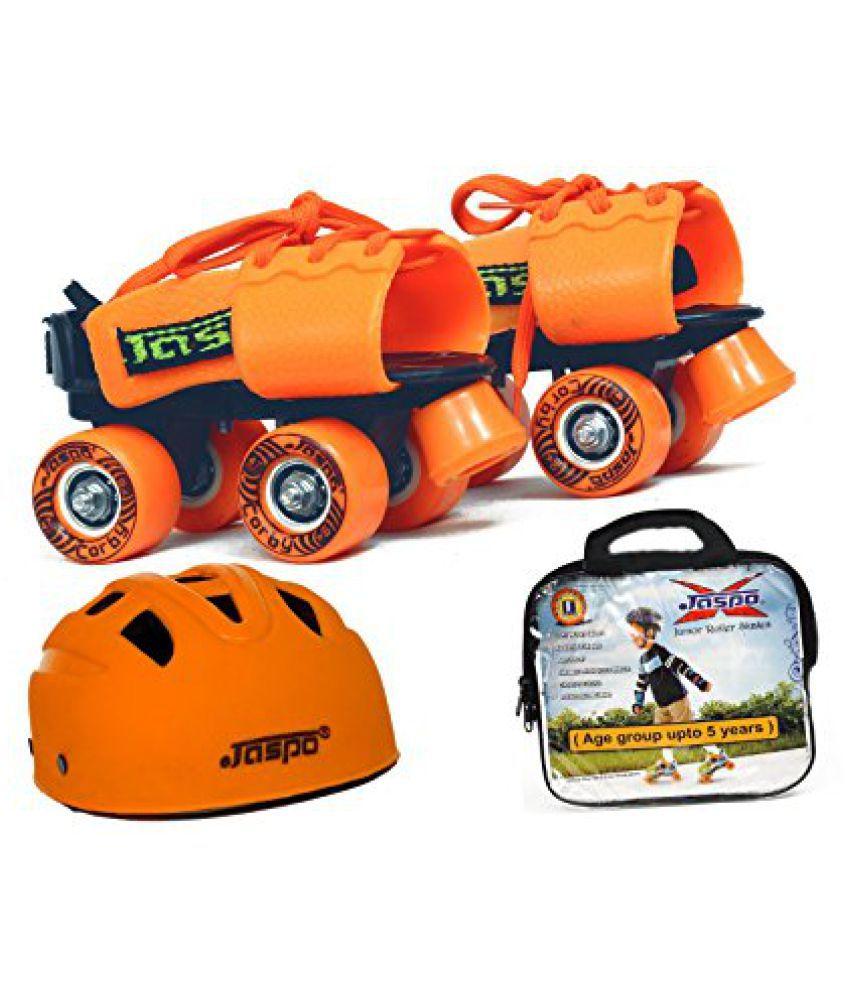 Jaspo Halloween Dual junior Skates combo(skates+helmet+bag)suitable for age upto 5 years