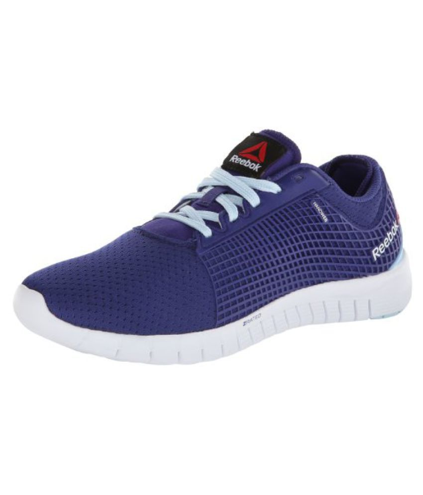 Reebok Women s ZQuick Running Shoe Violet/Dream Blue/White 8 B(M) US