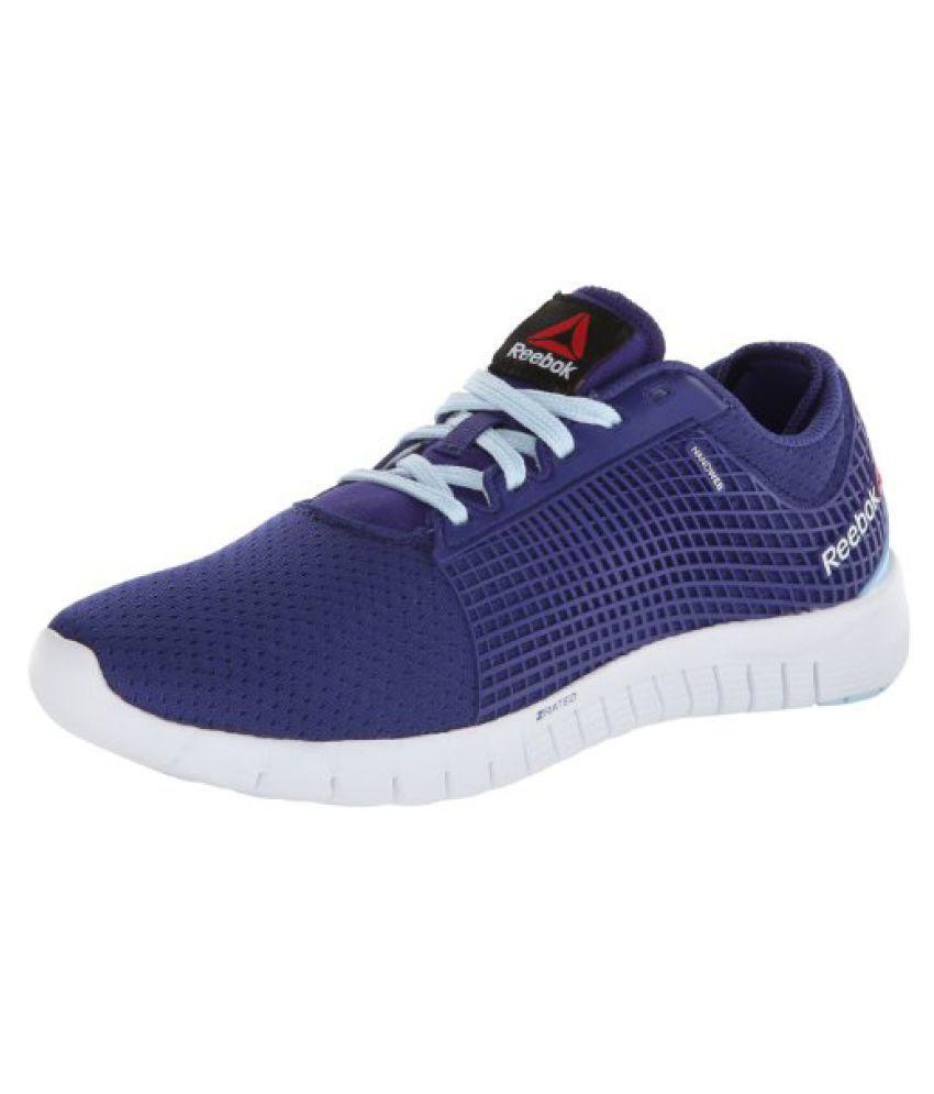Reebok Women s ZQuick Running Shoe Violet/Dream Blue/White 6 B(M) US