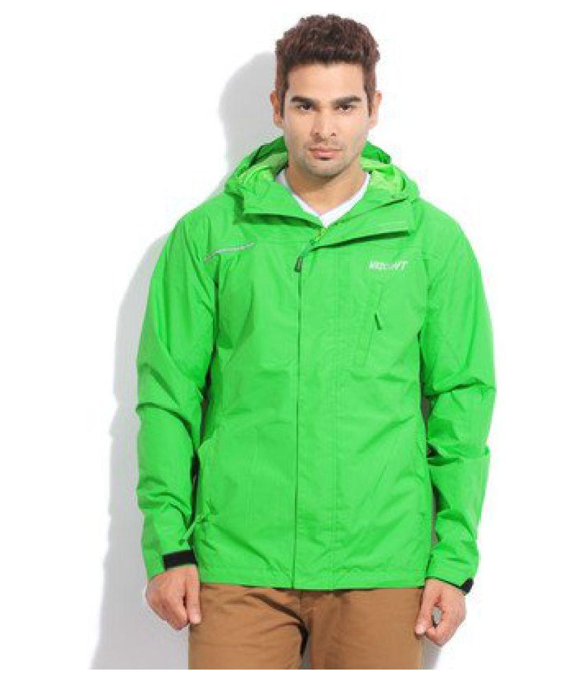 Wildcraft Rain Pro Mens Jacket DL Green