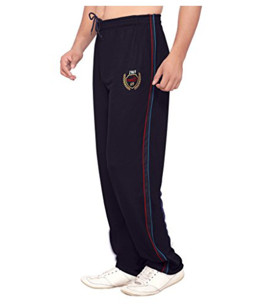 omtex Royal Track Pants 03 for sports and Gym Black