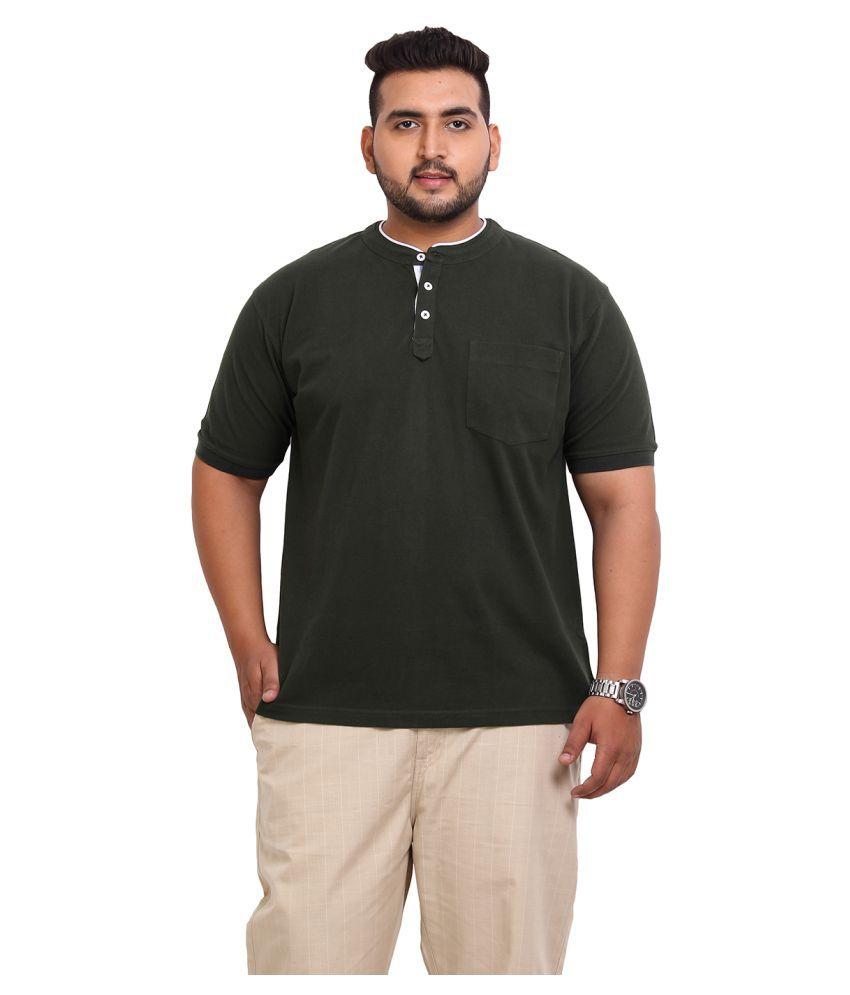 John Pride Green Henley T-Shirt