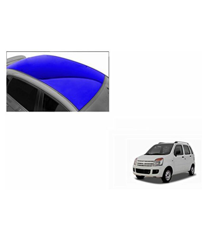 Speedwav Car Roof Glossy Wrap Sheet Blue-Maruti WagonR Type 2 (2003-2007)