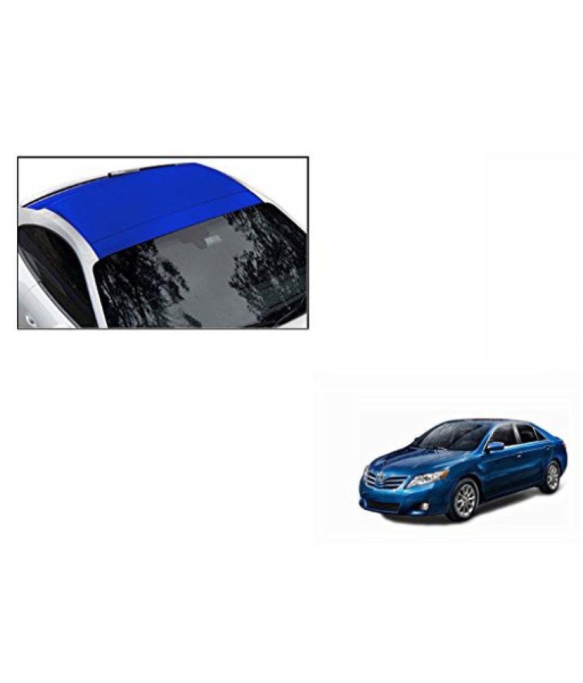 Speedwav Car Roof Wrap Sheet Matt Blue-Toyota Camry Type 2 (2007-2011)