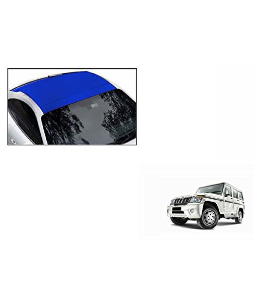Speedwav Car Roof Wrap Sheet Matt Blue-Mahindra Bolero Type 4 (2011-2015)
