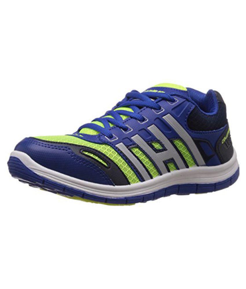 Columbus Men Blue Green Sports Shoes