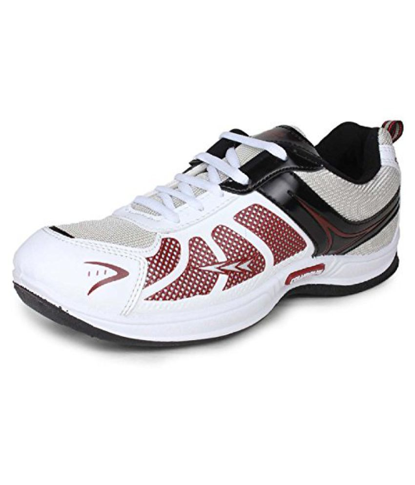 Columbus Mens Tab 2003 Black Maroon Synthetic Sports Shoes (6 UK)