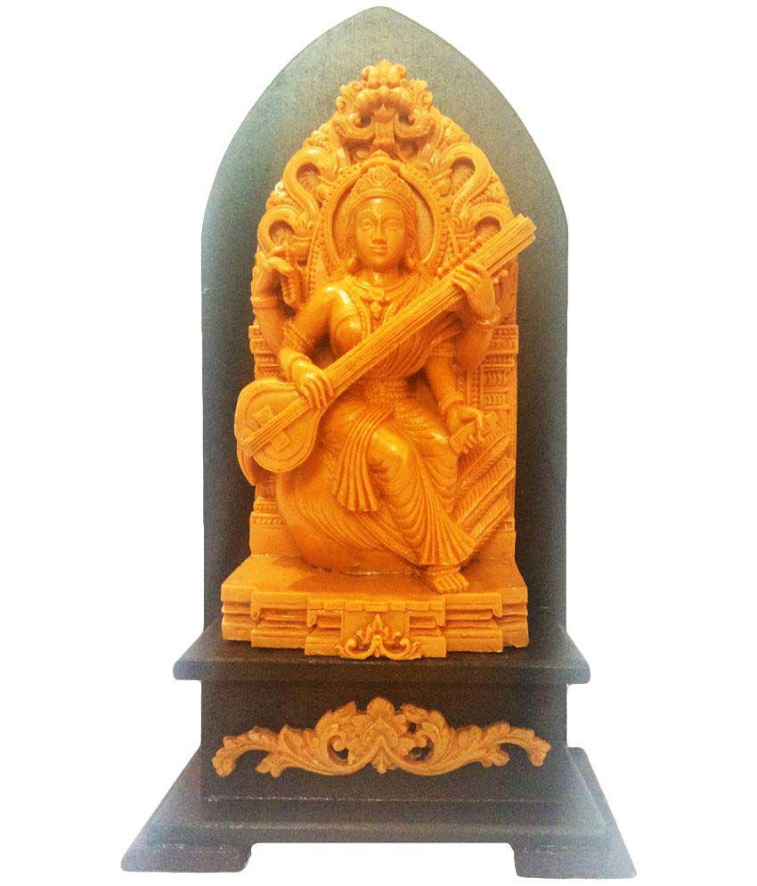 Returnfavors Saraswati Polyresin Idol