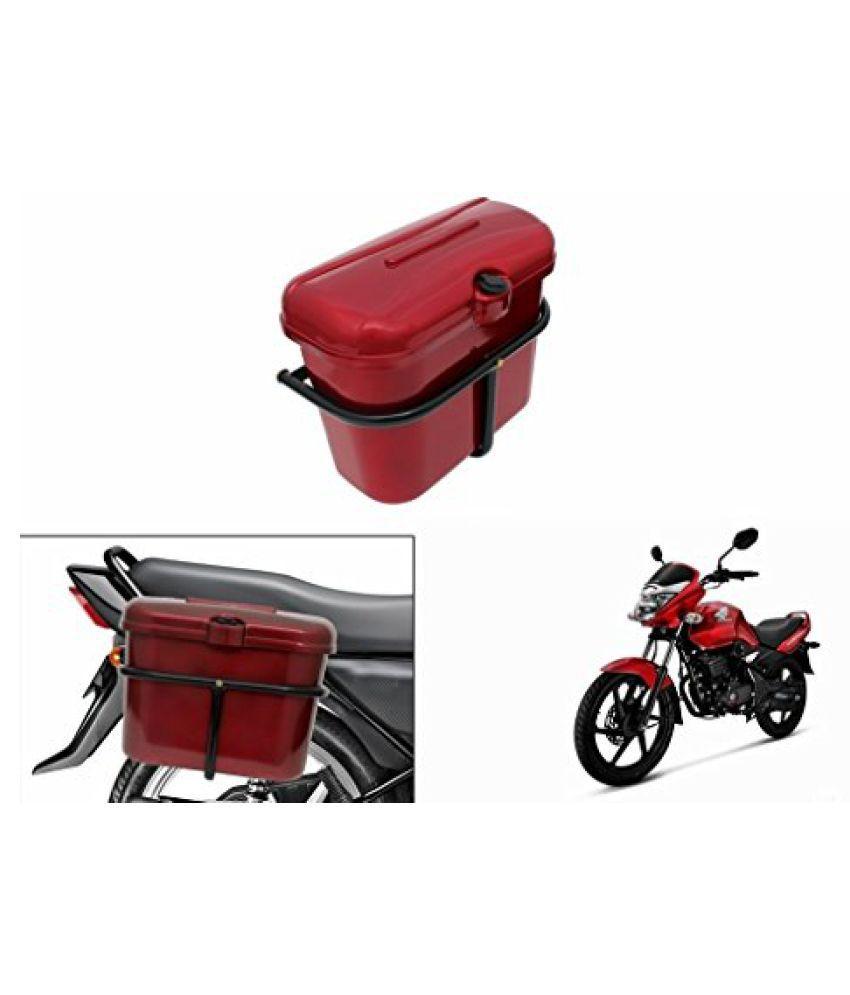 Speedwav Bike SLB-1 Side Luggage Box Red-Honda Unicorn