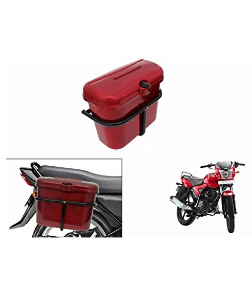 Speedwav Bike SLB-1 Side Luggage Box Red-TVS Star City Sport