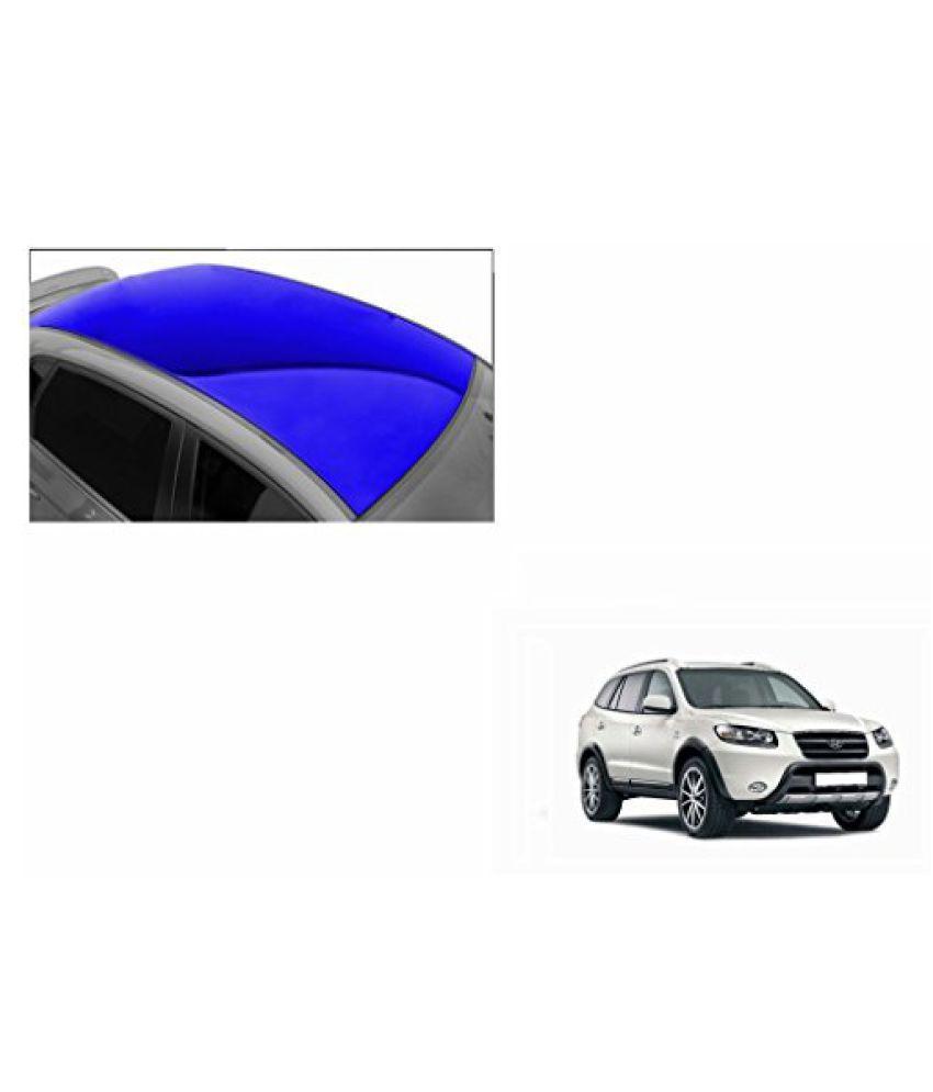 Speedwav Car Roof Glossy Wrap Sheet Blue-Hyundai Santa Fe Type 1 (2010-2013)