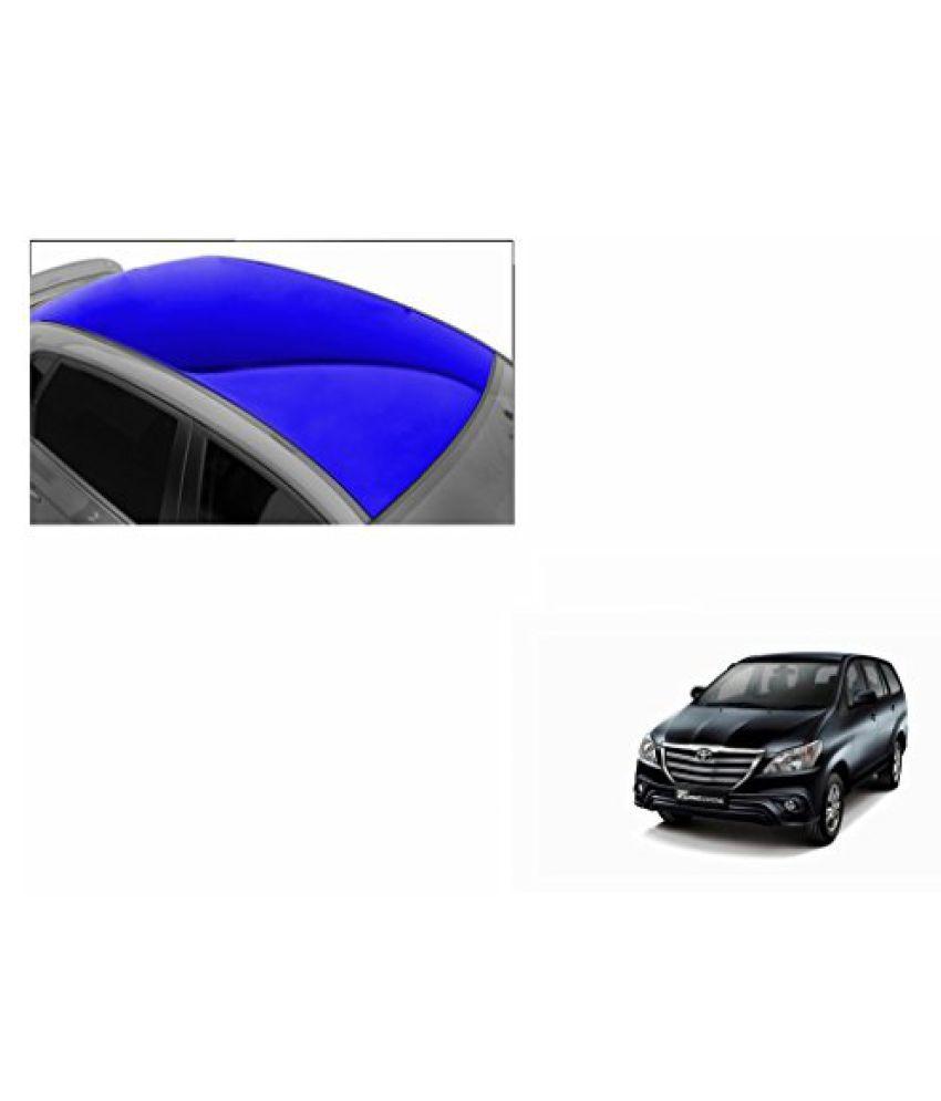 Speedwav Car Roof Glossy Wrap Sheet Blue-Toyota Innova Type 4 (2014-2015)